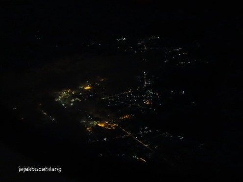 Bangkok dari atas pesawat