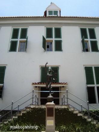 Hermes di Museum Fatahillah