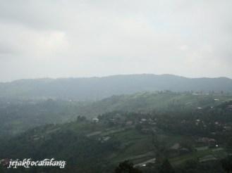 view dari Candi Sukuh
