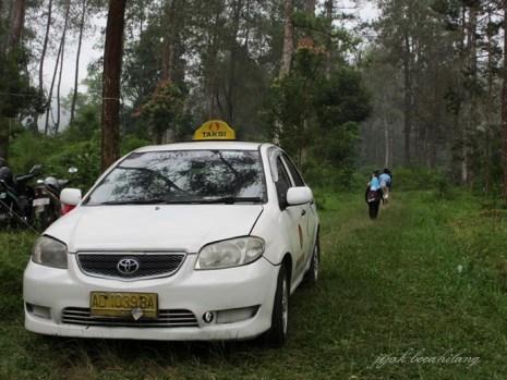 taxi nyasar di SegoroGunung
