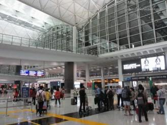 HKIA ( Hong Kong International Airport )