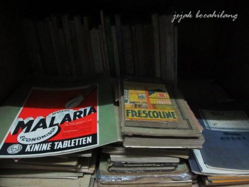 koleksi buku Dr Saleh
