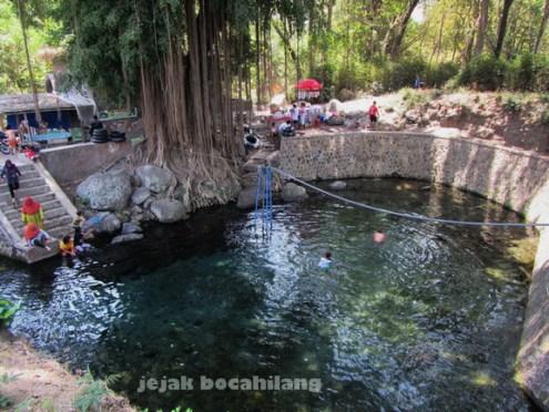 kolam mata air Kapilaler