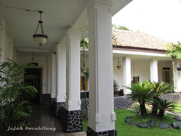 kemegahan bangunan Museum Batik Pekalongan