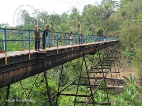 Jembatan Talang Air, Desa Fajar Esuk