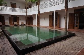 swimming pool Hotel Adhisthana