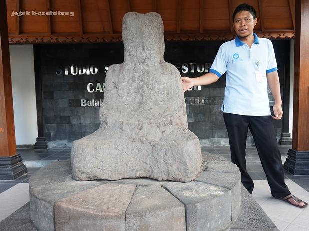 Adibuddha di Balai Konservasi Borobudur