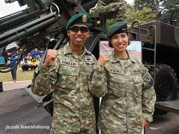 tentara pangkat tamtama TNI AD