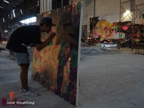 pameran lukisan di Fabriek Fikr 2