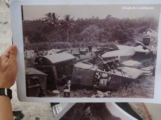 kecelakaan kereta di Jembatan Sungai Elo 1943