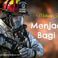 MUTIARA KELUARGA: Menjadi Air Bagi Api