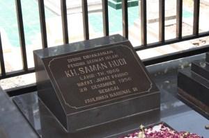 Makam Hadji Samanhoedi di salah satu area pemakaman Kampoeng Laweyan
