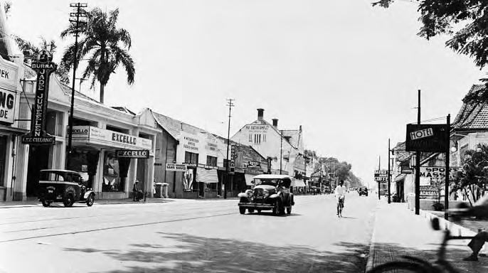Pasar Senen - Sumber : Planning The Megacity Jakarta in the Twentieth Century