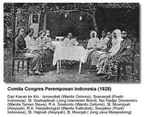 Kongres Perempuan 1938. Sumber foto: thisisgender.com