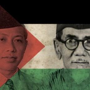 Degup Cita Para Pendiri Bangsa untuk Palestina