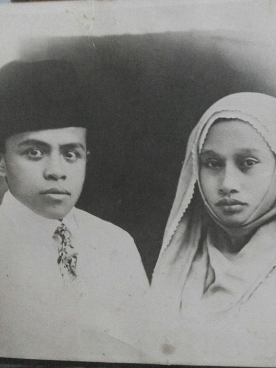 Buya Hamka dan Siti Raham. Sumber foto: Dokumentasi Keluarga