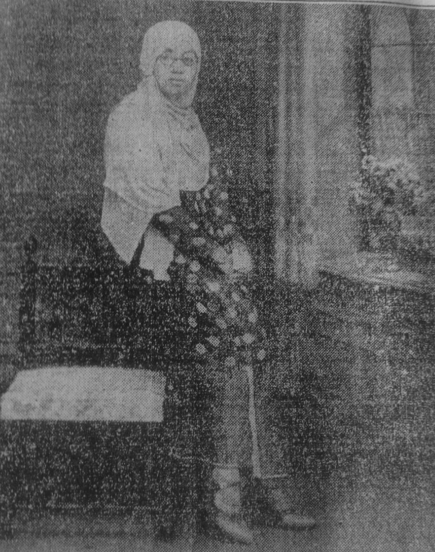 Rasuna Said di Majalah Pedoman Masjarakat 1 September 1937. Sumber: Dokumentasi Sarah Mantovani