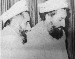 Mangal Hussein (kanan) dan Janbaz Safaraz Mohammad Rasoul (kiri) saat kunjungan ke Jakarta. Sumber foto: Kompas