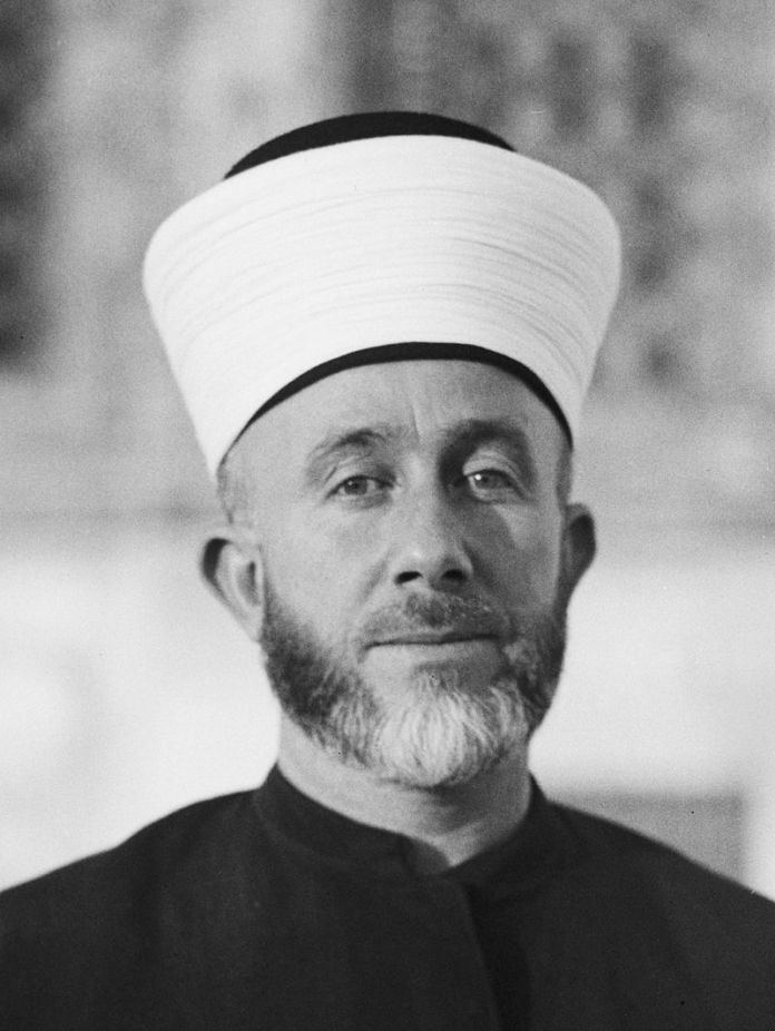 Syaikh Amin Al Husseini. Sumber foto: Wikipedia