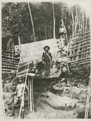 Tentara Belanda di Tanah Gayo. Sumber foto: KITLV Digital Media Library