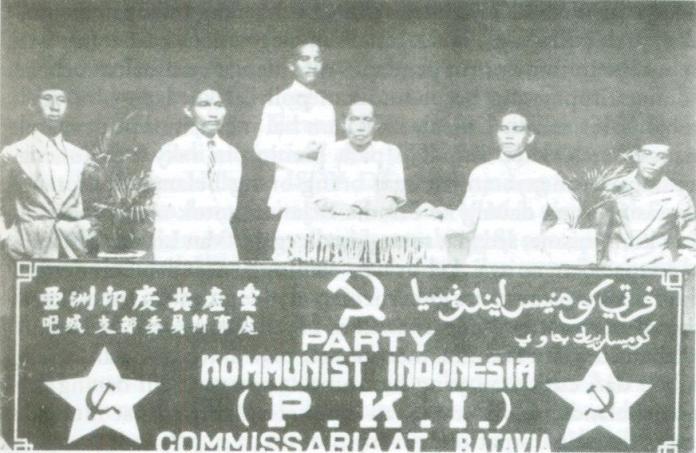 Gambar 1.15 PKI komisariat Batavia. Sumber foto: wikipedia