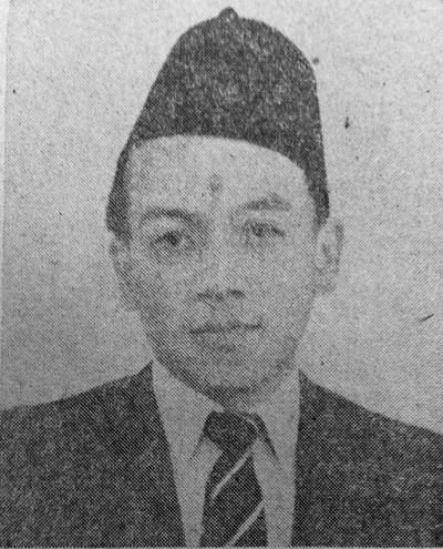 Gambar 4. Suripno. Sumber foto: Koran Sin Po 30 Agustus 1948