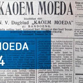 Surat Kabar Kaoem Moeda tahun 1914