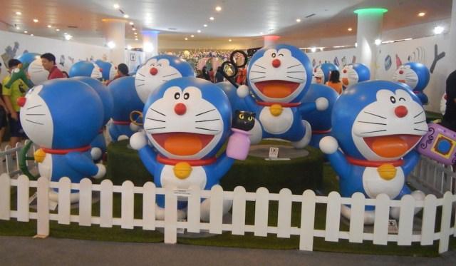 doraemon expo ancol beach city mall jakarta