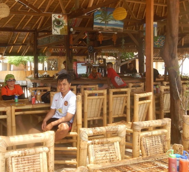 cafe gili air lombok