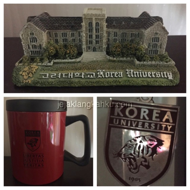 korea university souvenir
