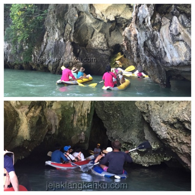 sea canoing hong island phuket 6
