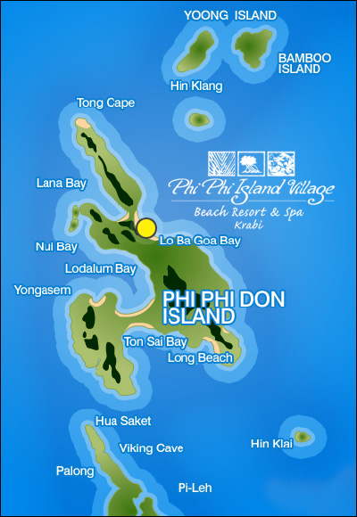 bamboo island map