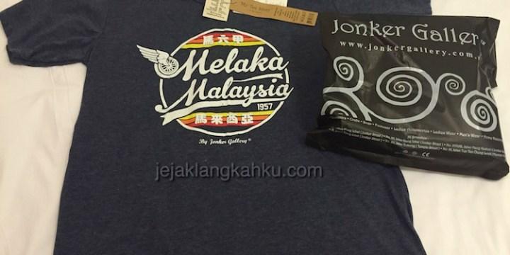 Tempat Belanja Souvenir Melaka di Jonker Gallery, Jonker Street
