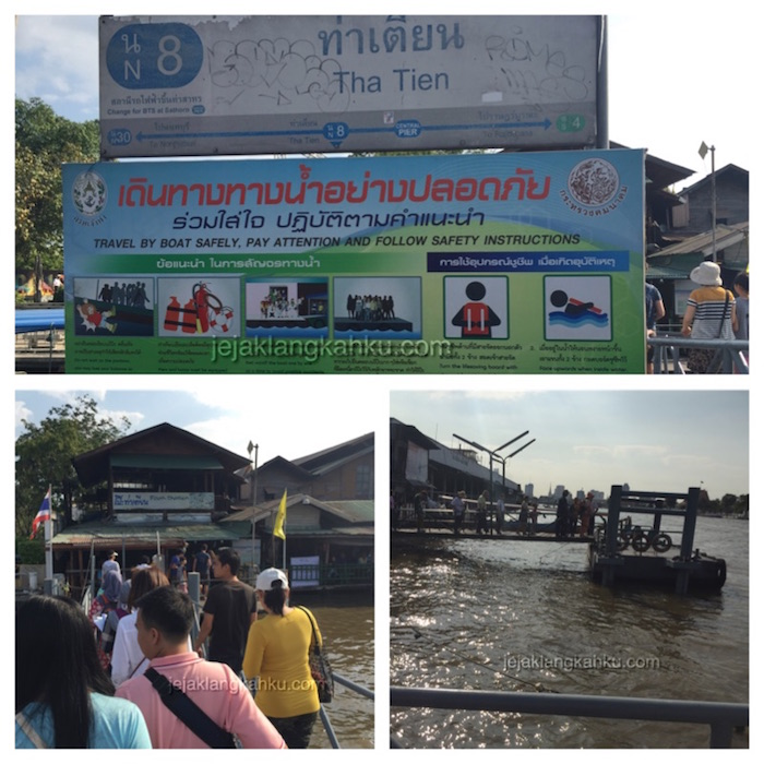 ferry to wat arun 3