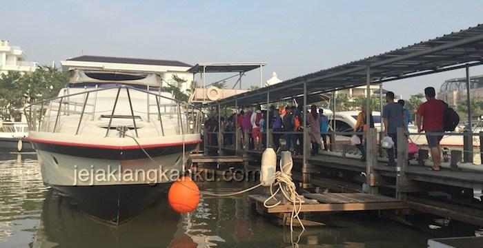 Transportasi Speedboat dari Dermaga Marina Ancol ke Berbagai Pulau di Kepulauan Seribu, Jakarta