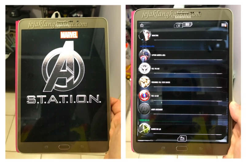 marvel the avengers station singapore 1