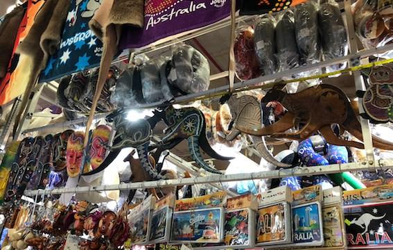 Tempat Belanja Oleh Oleh Australia di Paddy's Market Sydney Australia