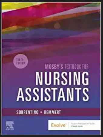This Image of Mosby's Textbook for Nursing Assistants 10th Edition, pdf, ebook and download by Sheila A. Sorrentino