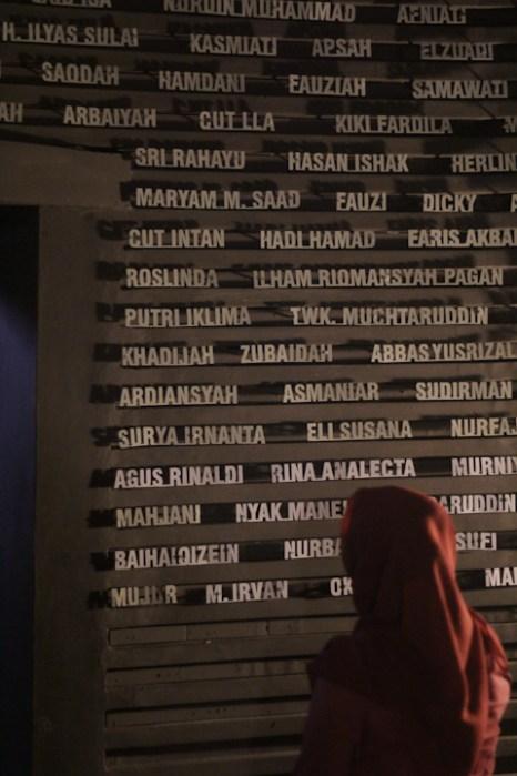 Daftar Korban Tsunami Aceh