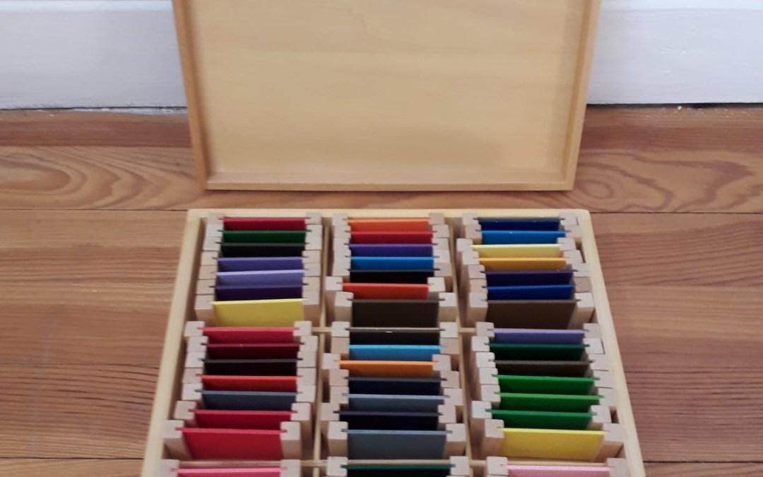 La boîte de couleurs