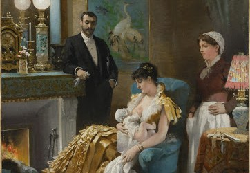 Avant le bal, vers 1886