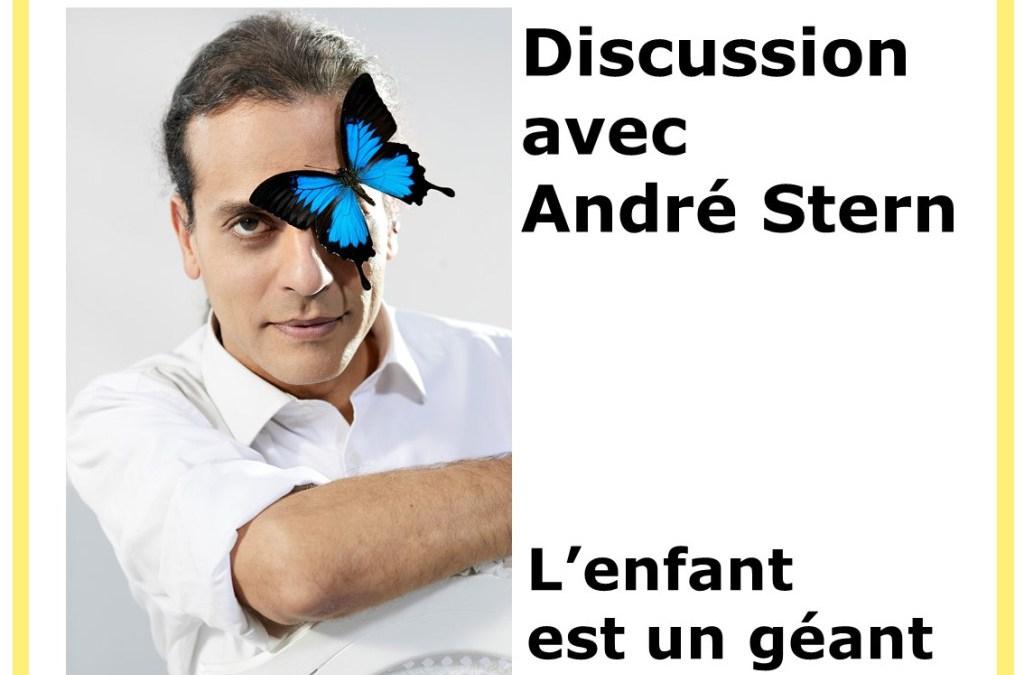 L'enfant est un géant, entretien d'André Stern avec Cédric créateur de Papatriarcat