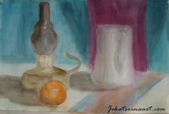 Water Color Paintings Katerina Krjanina Palm Coast Florida