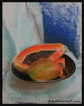 Pastel Drawings Katerina Krjanina Palm Coast Florida