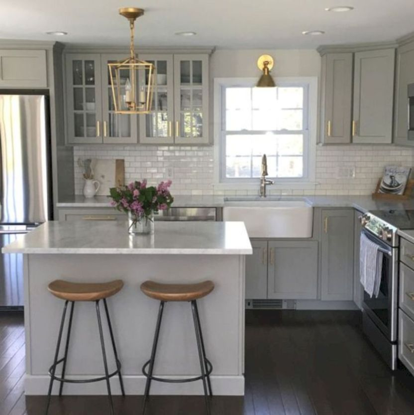 25+ Amazing Small Kitchen Remodel Ideas that Perfect for ... on Kitchen Renovation Ideas  id=61845