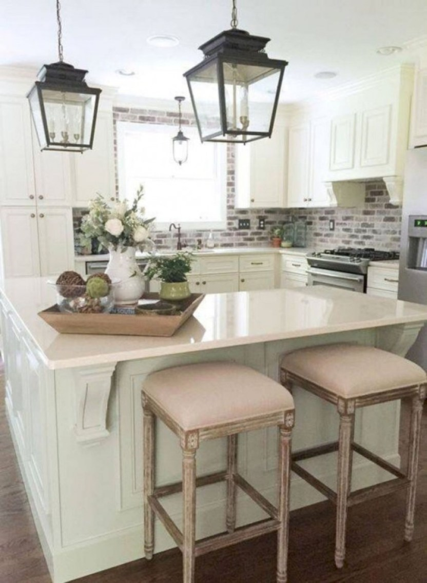 25+ Amazing Small Kitchen Remodel Ideas that Perfect for ... on Small Kitchen Renovation  id=22008