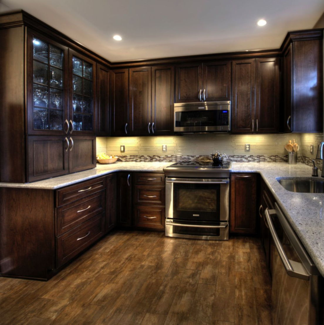 25+ Amazing Small Kitchen Remodel Ideas that Perfect for ... on Small Kitchen Renovation  id=18566