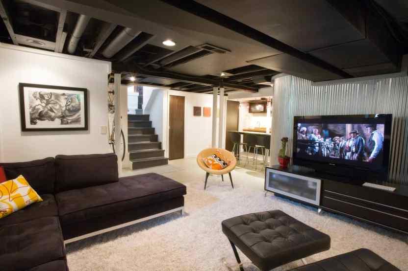 Basement Ideas for The Entertainment Room