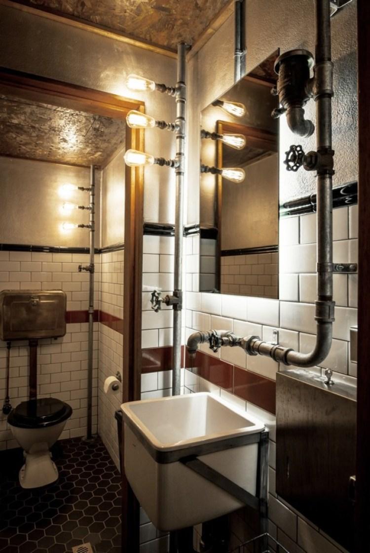 Basement Bathroom Ideas - Another Level of Industrial Bathroom