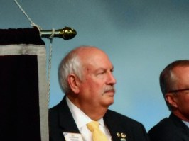 Lions Clubs International President Bob Corlew